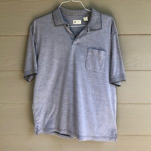 Haggar Large Grey Polo
